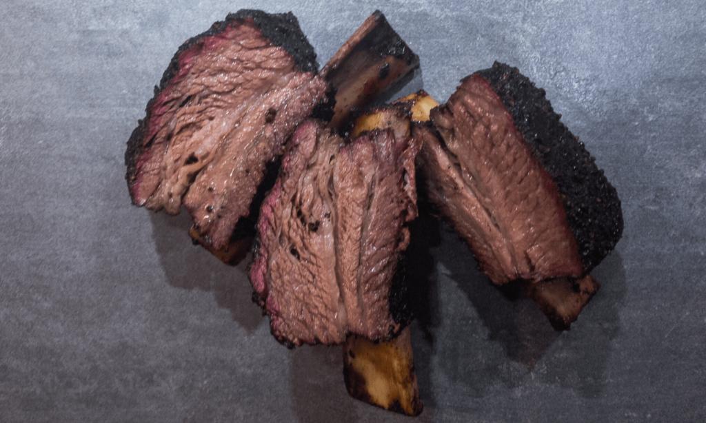 Beef ribs cut